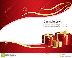 Gifts Background Elegant Gifts Background Stock Vector Illustration Of