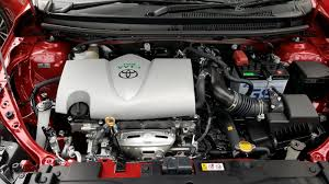 Taking the new Toyota Vios with upgraded engine and new transmission ...