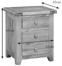 Oak Bedside Cabinet Lomo Oak Range Furniture Importers