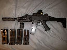 asg scorpion evo upgraded hopup airsoft