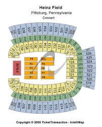 Garth Brooks Seating Chart Heinz Field Heinz Field Tickets In Pittsburgh Pennsylvania Heinz Field