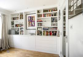 shelving furniture living room. Contemporary Living Room Fitted Cupboard With Asymmetrical Shelving Furniture