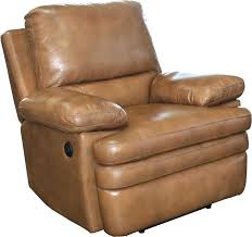 saddle leather recliner s brown home improvement