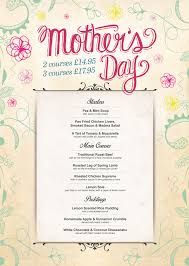 Mother S Day Menu Template 14 Best Photos Of Mothers Day Printable Menu Templates