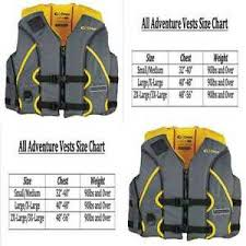 Full Throttle Life Vest Size Chart Details About Onyx All Adventure Shoal Life Vest Yellow Xx Large 3x Large Fishing Equipment