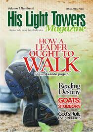 Light Ministries Inc Volume 2 Number 6 His Light Towers Ministry Inc His