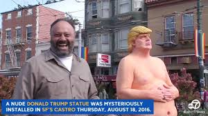 Nude Donald Trump statue raises eyebrows in San Francisco
