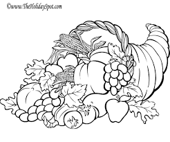 Free Thanksgiving Coloring Full Page Get Coloring Pages