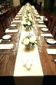 Rectangle Tables Wedding Reception Rectangle Table Centerpieces Mojrecept Info