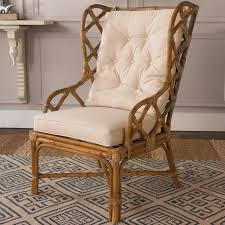 traditional wingback chairs. Rattan Wingback Chair Traditional Chairs