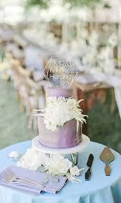 Amazoncom Susie85electra Geometric Wedding Cake Toppers Clear