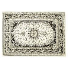 hometrends algoma black beige area rug image 1