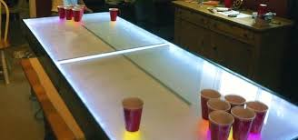 do it yourself led lighting. Light Up Your Next Party With This DIY LED Beer Pong Table That Dances To  The Do It Yourself Led Lighting