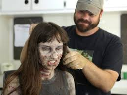 idea zombie makeup secrets from the set of walking dead allure