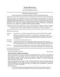 Network Engineer Resume Template Domestic Engineer Resume Sample