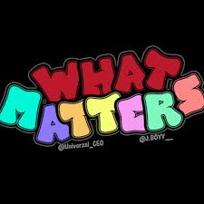 What Matters? Podcast
