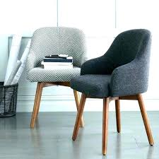 upholstered desk chair office furniture 8 chic chairs no wheels