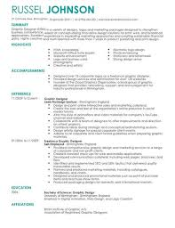 Marketing Graphic Designer Cv Template Cv Samples Examples