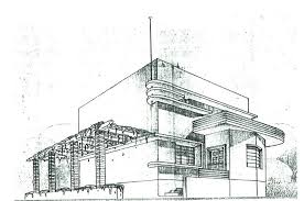 Building Architecture Drawing