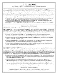 Branch manager resume is one of the best idea for you to make a good resume  7