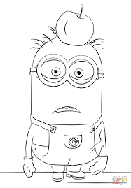 Small Picture Minion Tom coloring page Free Printable Coloring Pages
