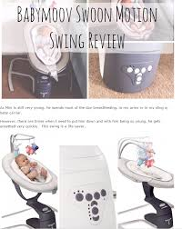 Bloggers Reviews on Swoon Up Bouncer & Swoon Motion Swing - Babymoov