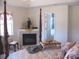 Bedroom:Romantic Master Bedroom Design With Cool White Corner Fireplace  Decor Idea Decorations Fascinating Wall