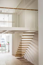 Jo-a : Up stairs - Suspended staircase and mezzanine Escalier suspendu Up -  escalier