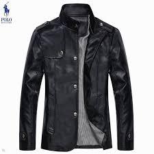 mens ralph lauren black leather jackets 4