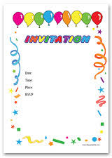 Free Birthday Party Invitation Templates - Certificate Template ... Free Birthday Party Invitation Templates ...