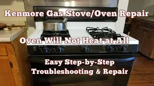 What Causes A Gas Stove Not To Light Troubleshooting Why Your Gas Stove Oven Wont Heat Or Ignite Top 5 Reasons
