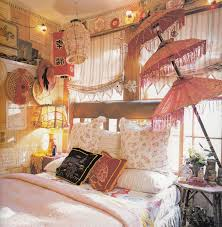 Cozy bohemian teenage girls bedroom ideas Bedroom Furniture Bohemian Bedroom Ideas Colourful Elegant Vintage Bedrom With Grey Bed And Yellow Tufted Intended For The Furniture Design Bohemian Bedroom Ideas Colourful Beauty Boho Decor And Im Hoping In