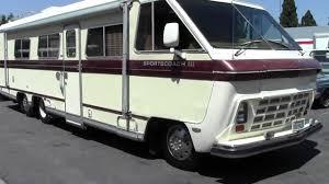 JDI2828 1984 34' Sportscoach RV Motorhome Walk-Around - YouTube