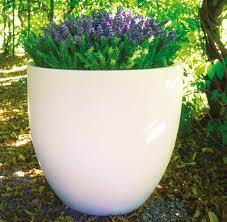 fibreglass garden planter modern contem
