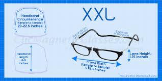Specs Frame Size Chart Sizing