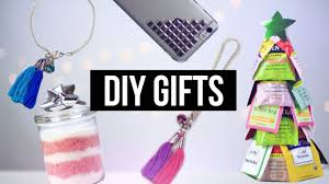 Diy Christmas Gifts People Actually Want Pinterest 2015 Youtube Diy Easy Christmas Gifts Pinterest