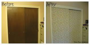 closet door ideas how to make boring