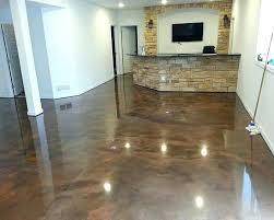 Paint Floor Cover Brown Epoxy Basement Floor Paint Ideas Nobles