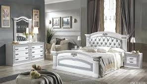 white italian bedroom furniture. Italian Furniture Bedroom Set Classic White Silver London