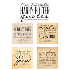 Free Harry Potter Quotes Printables [ One Velvet Morning ] Custom Love Quotes From Harry Potter