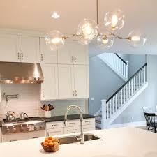 kitchen chandelier lighting. _hover Nickel Addison Globe Chandelier Lighting Kitchen Island Scene