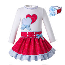 Little Girl Clothes Designer Pettigirl Spring Girls Princess Clothing Set With Baby