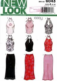 Halter Top Sewing Pattern