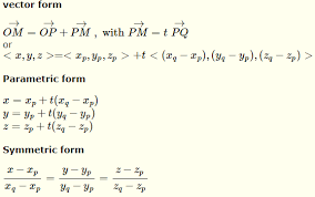 equation of a line through two points
