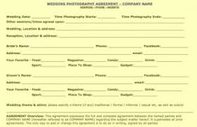 Free Wedding Portrait Commercial Contract Samples Updated At Pro