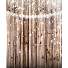 Wood With Lights Lights On Rustic Wood Planks