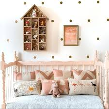 gold dot wall decals gold polka dots wall sticker baby nursery stickers children removable wall decals gold dot wall decals