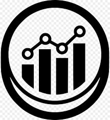 Statistics Symbols Chart White Circle Clipart Statistics Chart Text Transparent