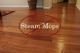 can you use steam cleaners on oak floors