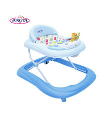 little angel safety and luxury baby walker blue